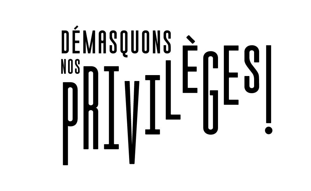 Démasquons nos privilèges - Logo