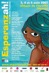 Affiche Esperanzah! 2007