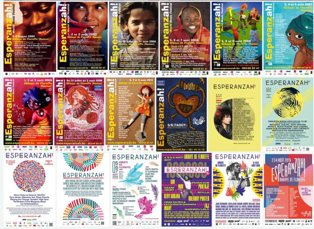 Afiches Esperanzah!